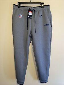 Nike NFL New England Patriots On Field Sweat Pants Men's Large $110 AO5429-021