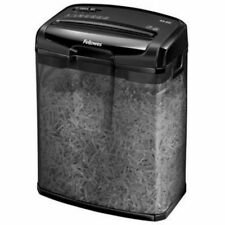 NEW Fellowes Paper Shredder Powershred Cross Cut Personal Shredder Black M-6