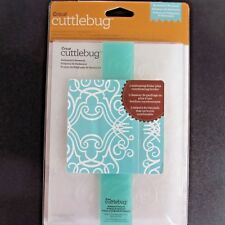 "CUTTLEBUG Cricut Nathaniel's Penwork 5x7 Embossing Folder with 1"" Border Emboss"