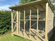 Wooden Outdoor Bespoke Cat House/Catio, Cat box, Cat run, Enclosure, Breeder Pen