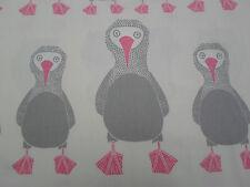 Harlequin/Scion Fabric 'Booby Bird' 2.1 METRES (210cm) Candy - 100% Cotton