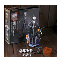 Jack Skellington Nightmare Navidad PVC Figura de Acción Modelo Before Juguete Sally