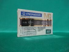 1 x PIONEER M1 46 (TYPE IV Metal) - * Vintage Audio Cassette* OVP! Rare!1982!