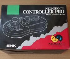 Neo Geo CD Controller Pro Joystick Boxed SNK AES Black