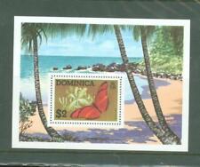 Y 436 Dominica Butterflies (MNH) minisheet