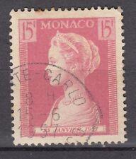 TIMBRE MONACO OBL N° 482  NAISSANCE DE LA PRINCESSE CAROLINE PRINCESSE GRACE