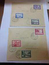 Deutsches Reich 773-778 FDC ERSTTAGSBRIEF Postkamerads. 1941, 2 Briefe (21709)