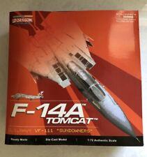 "Dragon Wings, 1:72 scale, Grumman F-14A Tomcat, Usn Vf-111 ""Sundowners"", #50045"