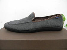 Aldo Dark Gray Lining Mens Loafer Shoes Size 46 NEW