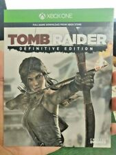 Tomb Raider Definitive Edition Xbox Live Code Full Game Download Card
