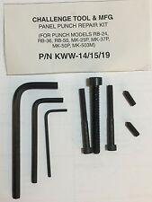 KWW-14/15/19 Panel Punch Repair Kit for RB-14/MK-15P/MK-19P (DSP)