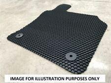 BMW X1 2010-2015 E84 Fully Tailored Black Hex Rubber Car Floor Mat Heavy Duty