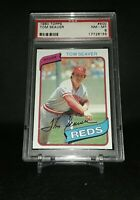 1980 Topps Tom Seaver #500 Reds PSA NM-MT