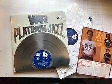 WAR PLATINUM JAZZ Blue Note 1977 Gatefold Stereo BN-LA690-J2 w/insert 2 lp rare!