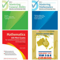 Selective Schools and Scholarship Tests BUNDLE PACK ( 4 PACK)