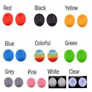 2pcs Thumbstick Grips for Xbox360 Xbox One Ps3 Ps4 Controllers-12 Color Choices