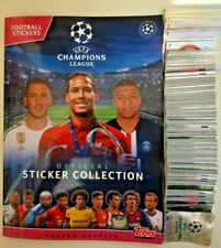 Topps UEFA Champions League 2019/20 Complete Loose Sticker Set +  Empty Album