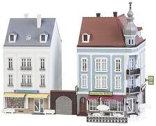 """Faller 130703 2 Stadthäuser Beethovenstraße BAUSATZ  H0 """"Neu"""""""