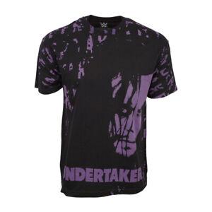 WWE UNDERTAKE MENS BLACK T SHIRT