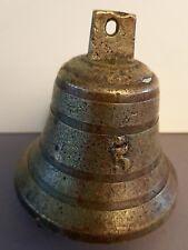ancienne cloche clochette n°5- bronze- cloche de table -cloche d'entrée animaux