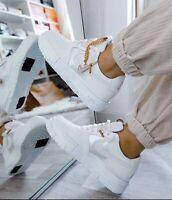 Nike Air Force 1 Pixel Trainers Summit White Dark Beetroot UK 6 / EU 40 / US 8.5