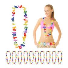 Blumenketten bunt Alohaketten Kostüm Hawaii Deko 144 x Hawaiikette HONOLULU