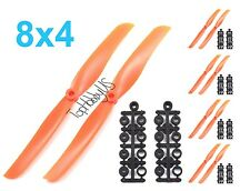 "10pcs  8040 (8x4"") RC Plane Airplane Electric Propeller  (US Seller & Shipping)"