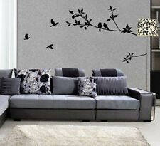 Bird Flower Tree Vinyl Decal Removable Wall Art Stickers Mural Room Home Decor