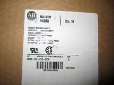 NEW ALLEN-BRADLEY MOTOR CIRCUIT PROTECTOR 140M-I8P-C15-CXM BREAKER 15A QUANTITY