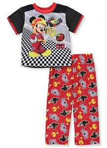 Mickey Mouse Toddler Boys 2-Piece Pajama Pant Set Size 2T 3T 4T $34