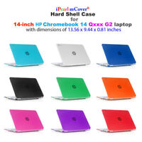 "mCover Hard Shell Case for NEW 14"" HP Chromebook 14 G2 14-Q010 14-Q020 14-Q030"