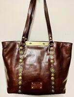 Patricia Nash BENVENUTO for Women's Purse TOBACCO Ren Coin Fashion Leather -N2