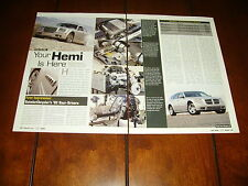 2005 DODGE MAGNUM HEMI 2005 CHRYSLER 300 HEMI ***ORIGINAL ARTICLE***