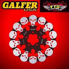 Galfer Rear Floating Skull Rotor for 2008-2012 HD XL 1200 N Nightster DF681FRH