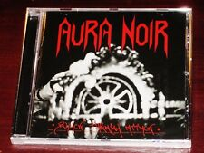 Aura Noir: Black Thrash Attack CD 2011 Bonus Track Remaster Peaceville Recs UK
