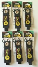 (6) (Medium) Wrap-It Heavy Duty Storage Straps to Hang Items on Hooks & Pegboard