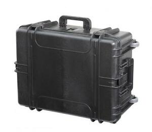 MAX620H250 - Equipment Case wasserdicht, schwarz, 620x460x250mm