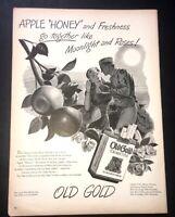 Life Magazine Ad OLD GOLD Cigarettes 1944 Ad