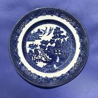 """1 - 8"""" Vintage Blue Willow Johnson Bros England Salad Size Replacement"""
