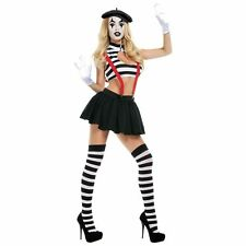 Hush Mime Costume for Women size M (6-8) New by Starline S3066