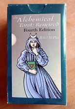 The Alchemical Tarot: Renewed Fourth Ed:  2015 Robert Place - Collector owned