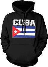 República de Cuba Text Flag Cuban Pride Orgullo Bandera Cubana Hoodie Pullover