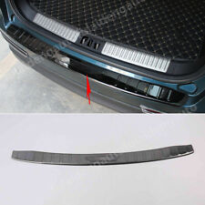For Lincoln MKX 2016-2018 Black titanium Outer Rear Bumper Protector Cover Trim