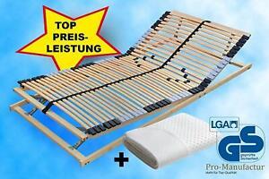 7-Zonen Premium Lattenrost mit 42 Leisten 90x200cm inkl.Matratzenschutz