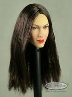 1/6 Scale Phicen, TBLeauge, Kumik, NT Female Head Sculpt Samantha w/ Dark Hair