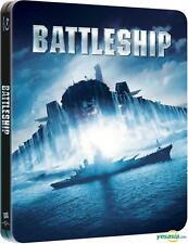 BATTLESHIP-REGION 2 JAPAN IMPORT EMBOSSED BLURAY STEELBOOK-EXTRAS-NEW/RARE/OOP!!