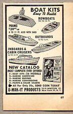 1951 Print Ad U-Mak-It Boat Kits Prams,Outboards,Cabin Cruisers New York,NY