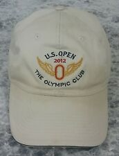 US OPEN 2012 THE OLYMPIC CLUB USGA MEMBER PGA GOLF HAT CAP KHAKI STRAPBACK