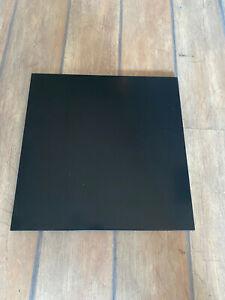 USM Haller Tablar Zwischentablar 480x480 für 500x500 Boden Graphitschwarz