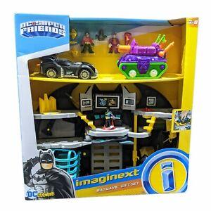 Brand New Fisher Price Imaginext DC Super Friends Batcave Gift Set Robin joker